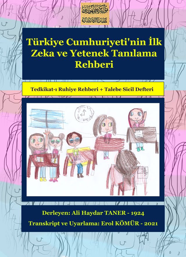 Türkiye Cumhuriyeti'nin İlk Zeka ve Yetenek Tanılama Rehberi
